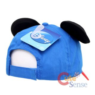 Disney Mickey Mouse Baseball Cap Hat with 3D Ears Kids Adjustable