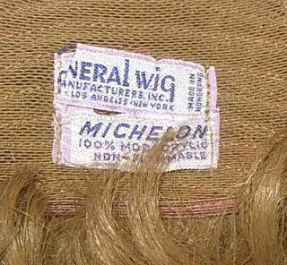 General Wig Michelon Short Light Brown Wig