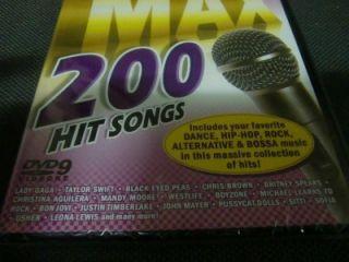 Jovi Jewel Sheryl Crow Michelle Branch DVD Karaoke 200 Songs