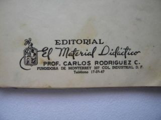 Memoirs School Scrapbook Poetry Moral w Photos Monterrey Mexico