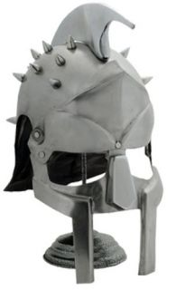 Roman Gladiator Metal Helmet MF Doom Mask Medieval Armor Steel Spikes