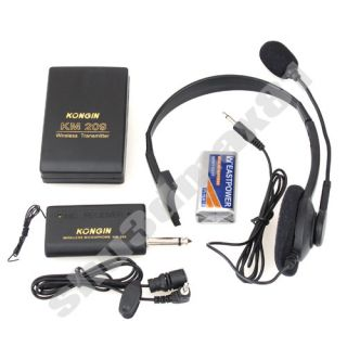 Wireless Remote Microphone Headset Stage Receiver S1352 Features: