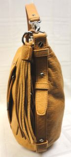 Authentic Michael Kors Bowen Large Brown Python Shoulder Tote Handbag