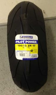 New Michelin Pilot Power Motorcycle Tires Sz Front 120 70 R17 Rear 190