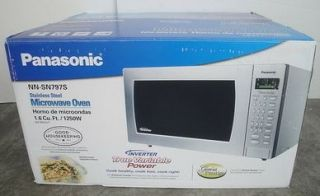 New Panasonic 1 6 CU ft Genius Prestige Microwave NN SN797S