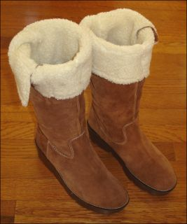 Michael Kors Boots Womens 10 Shearling Boots
