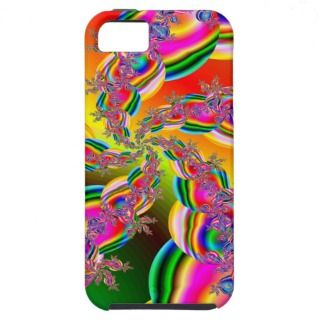 Fantasia Rainbow Strings Fractal iPhone 5 Cover
