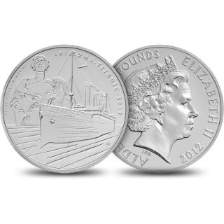United Kingdom 2012 Titanic 100th Anniversary Alderney Coin