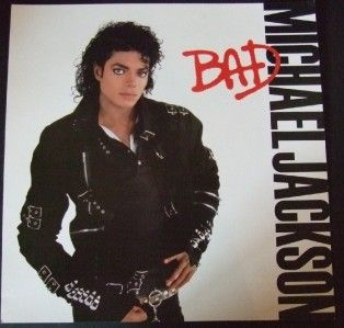 Michael Jackson King of Pop Bad Promo Album Poster Flat