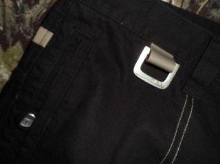 Nike Michael Jordan Flight Black Soft Khaki Pants Jeans Slacks Sz 3XL