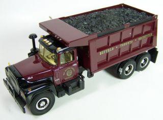 341st Gear 1960 Mack R Model Dump Truck Ray Meyer Fossils 19 2379