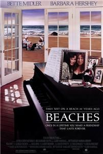 Beaches 27 x 40 Movie Poster Bette Midler Hershey