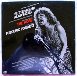 Bette Midler The Rose LP Original Soundtrack Recording 1979 SEALED