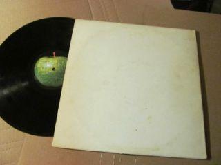 Beatles White Album w Numbered Cover Laminated Cover Gatefold Swbo 101