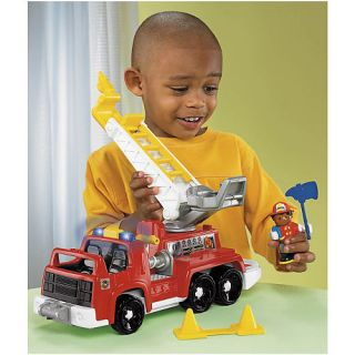 Fisher Price Little People Michael His Rescue Rig