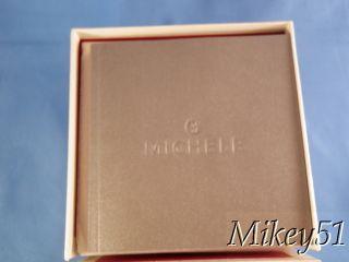 New Michele Large Deco XL Diamond Watch MW06J01A1025 SS Bracelet $2145
