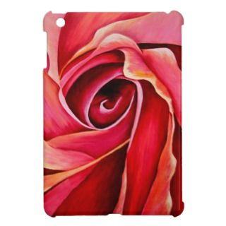 Abstract Rosebud iPad Mini Case