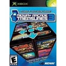 Midway Arcade Treasures 3 Xbox Brand New Factory SEALED