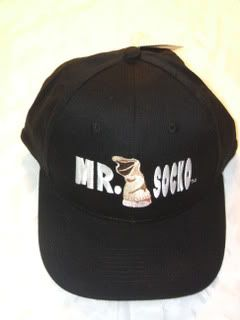Mick Foley Mr Socko Mankind WWE Baseball Cap Hat New