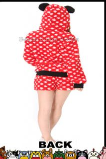 Sazac Kigurumi Fancy Parka Suit Mickey Mouse Sexy Parka Dress M Size