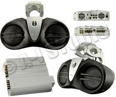 Infinity 6100M Marine Boat Audio Amp 6 Wakeboard Tower Speakers Sound