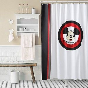 Mickey Mouse Clubhouse Shower Curtain  New