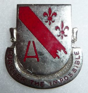 378th Engineer Battalion 1950s Vintage US Army Crest