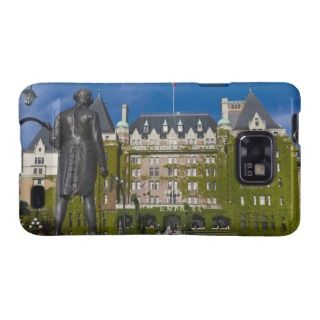 Empress Hotel and statue of Captain James Cook, Samsung Galaxy Covers