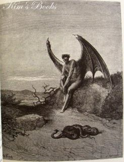 Franklin Library John Milton Paradise Lost Gustave Dore