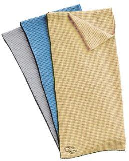 New Club Glove Microfiber Golf Towel Cool Grey 17x40
