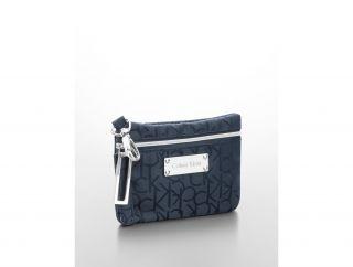 Calvin Klein Womens Jacquard Logo Mini Bag
