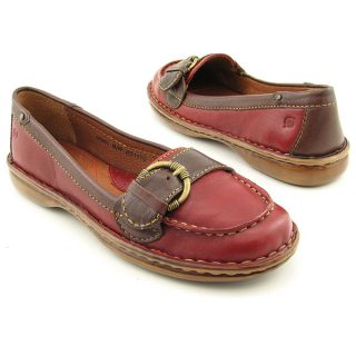 Born Mindy Red Flats Shoes Womens Size 6