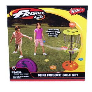 Wham O Mini Frisbee Golf Set Disc Game