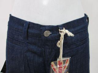 MiH Jeans Dark Blue Flare Leg Jeans Pants Sz 25