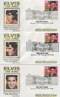 2721 Elvis Presley 3 FDC Album
