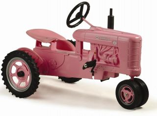 Pink Pedal Tractor w Spoke Rims NIB Made in USA 2013 PA Show