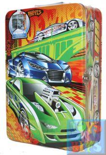 Hot Wheels Hotwheels Car Carry Case Tin Store 40 Cars