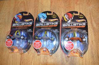 2012 Mattel Hot Wheels Ballistiks Vehicles DC Comics Batman Bane