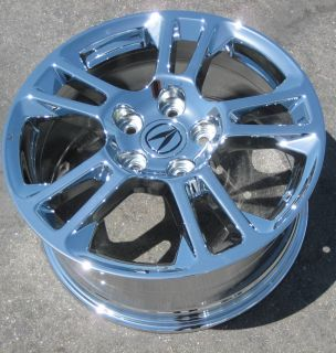Factory TL TSX Chrome Wheels Rims Odyssey 2009 Up 714 940 1761