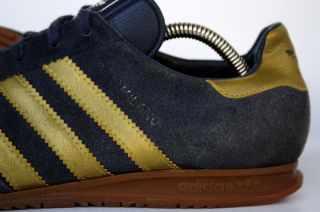Vintage 80s Adidas Milano Shoes Trainers Sneakers ROM Bern 6UK 6 5M 7