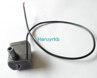 Brushless DC Mini Pump For fountain aquarium CPU cooling solar system