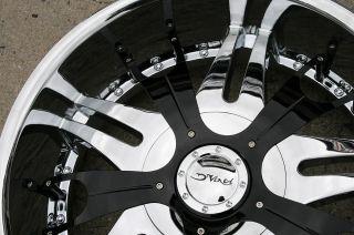 Vento 22 Chrome Rims Wheels Nissan Titan Pickup 22 x 9 5 6H 15