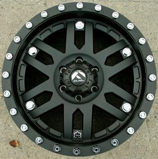 Fuel Mojave D511 20 Black Rims Wheels Tundra 00 06 20 x 9 0 6H 18