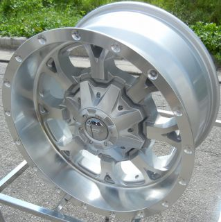 18x9 Silver Fuel Krank Wheels Rims Toyota Tundra Sequoia 5x150 Dodge