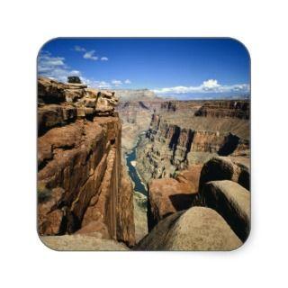 USA, Arizona, Grand Canyon National Park, Square Stickers