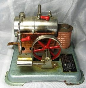 Used But Complete Vintage Jensen Dry Fuel Fired Steam Engine 76