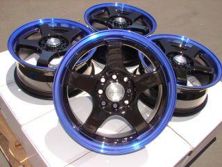 Blue Effect Wheels Lancer Accord Jetta Scion XA XB Golf CL Rims