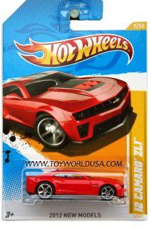 2012 Hot Wheels New Models 9 2012 Chevy Camaro ZL1