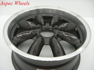 17x7 5 Rota RB 4x100 45 Royal Gun Metal Wheel Fits Mini Cooper