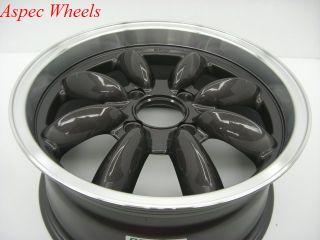 17x7 5 Rota RB 4x100 45 Royal Gun Metal Wheel Fits Mini Cooper